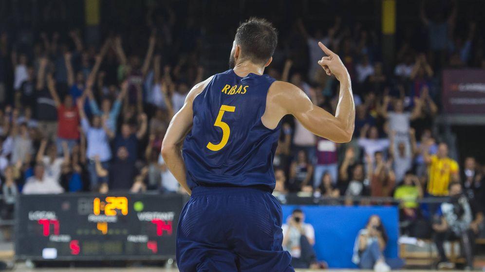 Foto: Pau Ribas llevaba 11 meses sin jugar un partido oficial. (ACB Photo/V. Salgado)