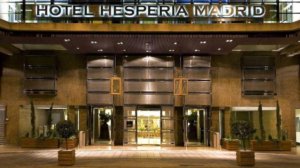 Foto: El Hotel Hesperia Madrid es la joya de la corona de los hoteles de Millenium.