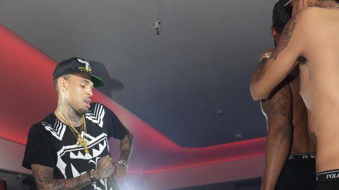 Desmadre total en el concierto de Chris Brown en Cannes