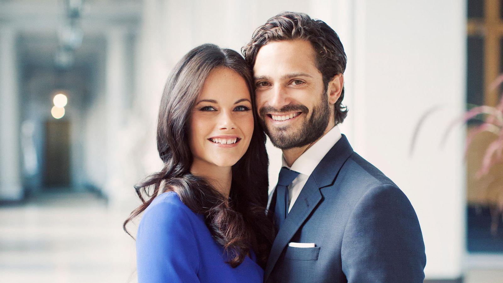 Foto: Carlos Felipe y sofía Hellqvist en una imagen oficial (Gtres)