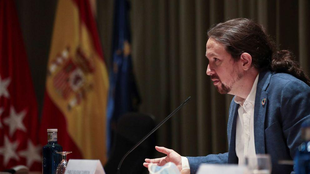 El enlace de Neurona con Podemos es un abogado mexicano con dirección ficticia