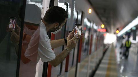 El suburbano de la línea roja de Bangkok, operativo