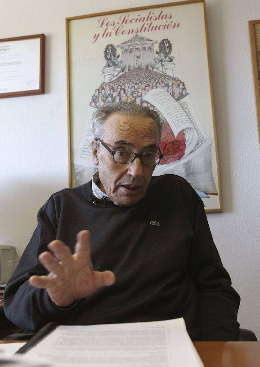 El padre de la Constitución y expresidente del Congreso, Gregorio Peces Barba, en una imagen de archivo. (EFE)
