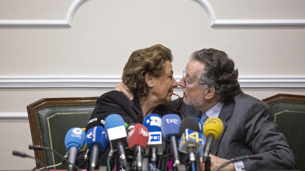 Foto: Barberá y Grau, cuando eran inseparables. (EFE)