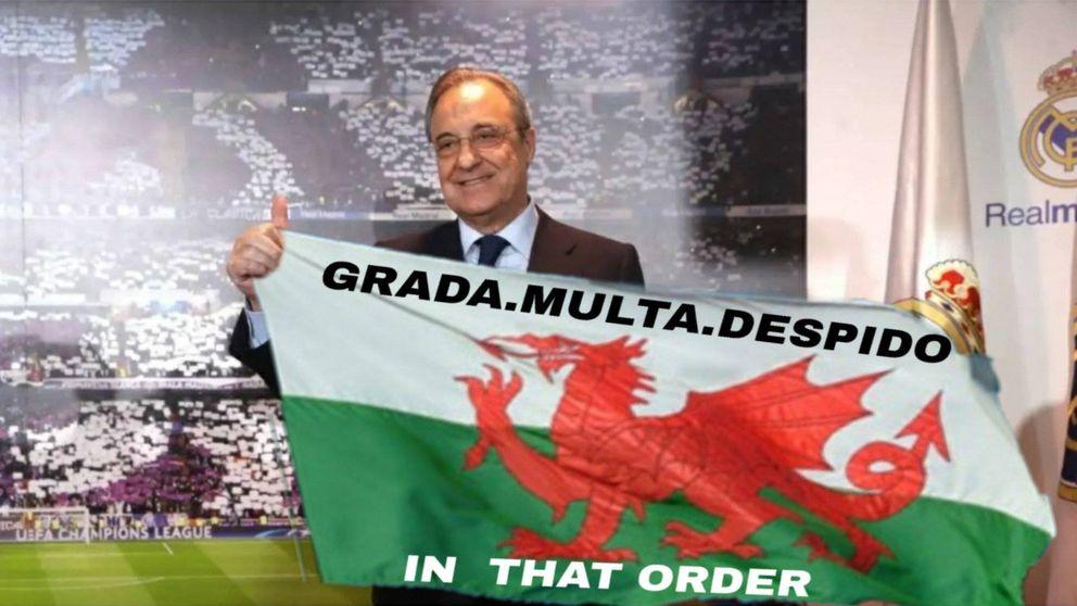 Los memes del Real Madrid y Gareth Bale: Rodrygo, Vinicius, Bale. In that Order