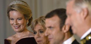 Post de Cena de gala en Bélgica: la poca originalidad de Brigitte Macron y la elegancia de Matilde