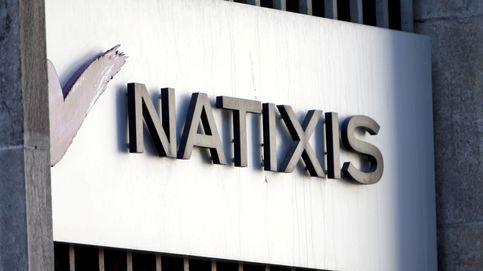 Un grafitero se cuela en las tripas de Natixis