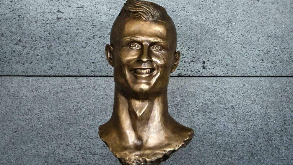 El busto de Cristiano Ronaldo, el nuevo Ecce Homo del que todo el mundo se ríe