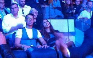 Irina Shayk 'desconcentra' a Cristiano Ronaldo