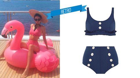 ¿Bikini o bañador? Estos son los favoritos de Amaia Salamanca, Kendall Jenner y Hailey Baldwin
