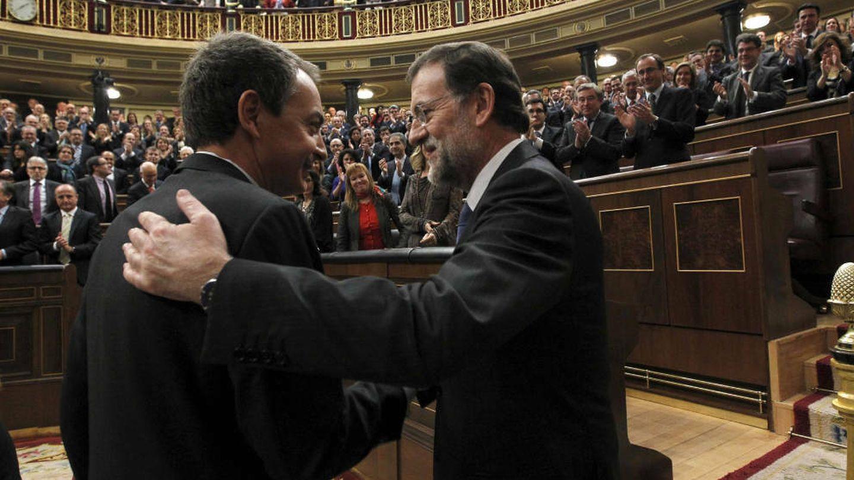 José Luis Rodríguez Zapatero y Mariano Rajoy (EFE)