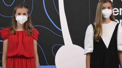 Leonor, clásica y de rojo, y Sofía, de negro y a la última: sus looks en los Princesa de Girona