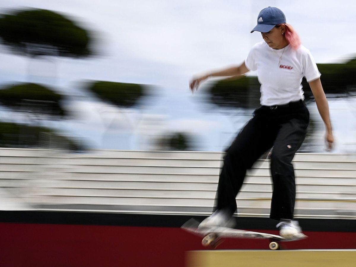 Foto: La española Andrea Benítez acudirá a los Juegos Olímpicos (EFE)