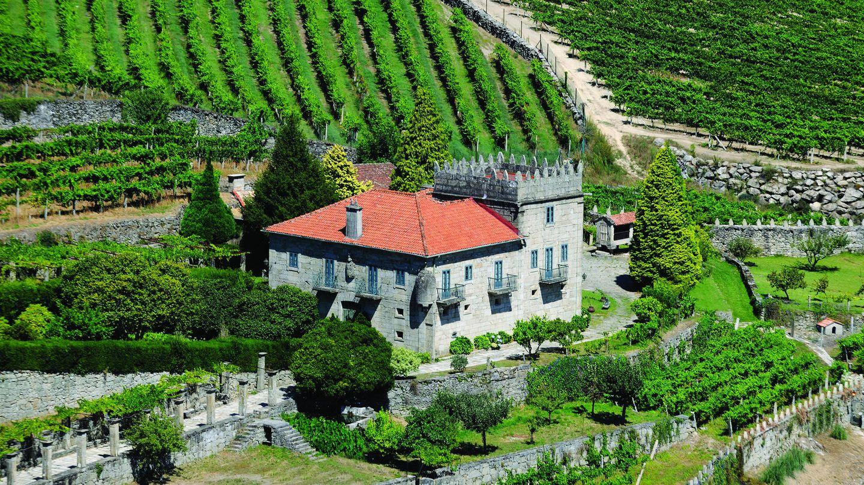 El Pazo La Moreira, en la querida Galicia. (Cortesía)