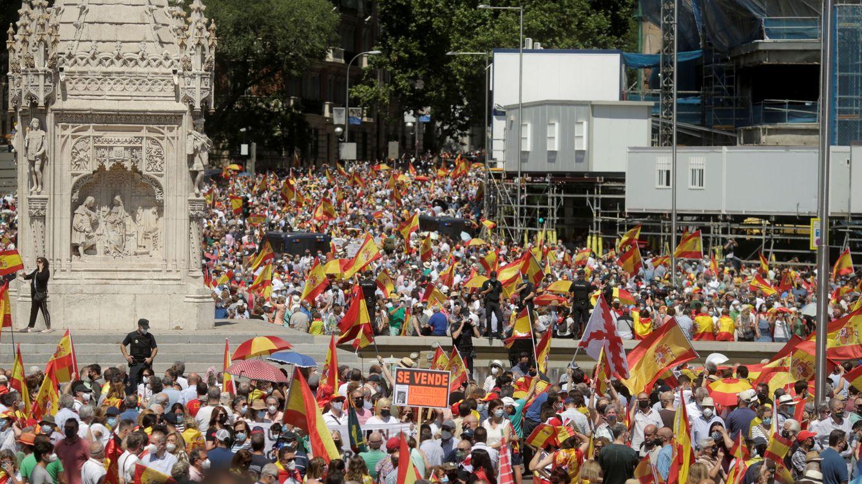 Directo   Multitudinaria manifestación en Colón: 126.000 personas, según la Policía Municipal
