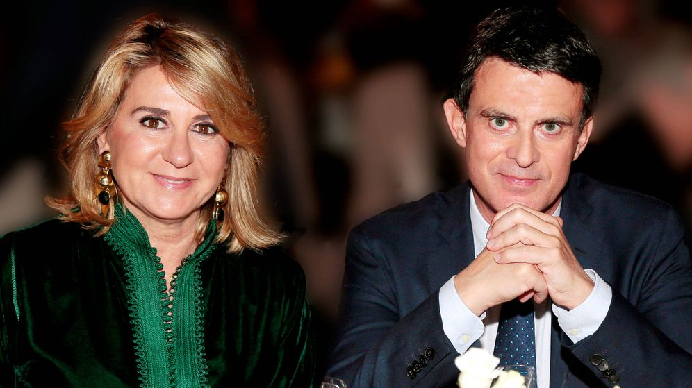Foto: Manuel Valls y Susana Gallardo. (Getty)