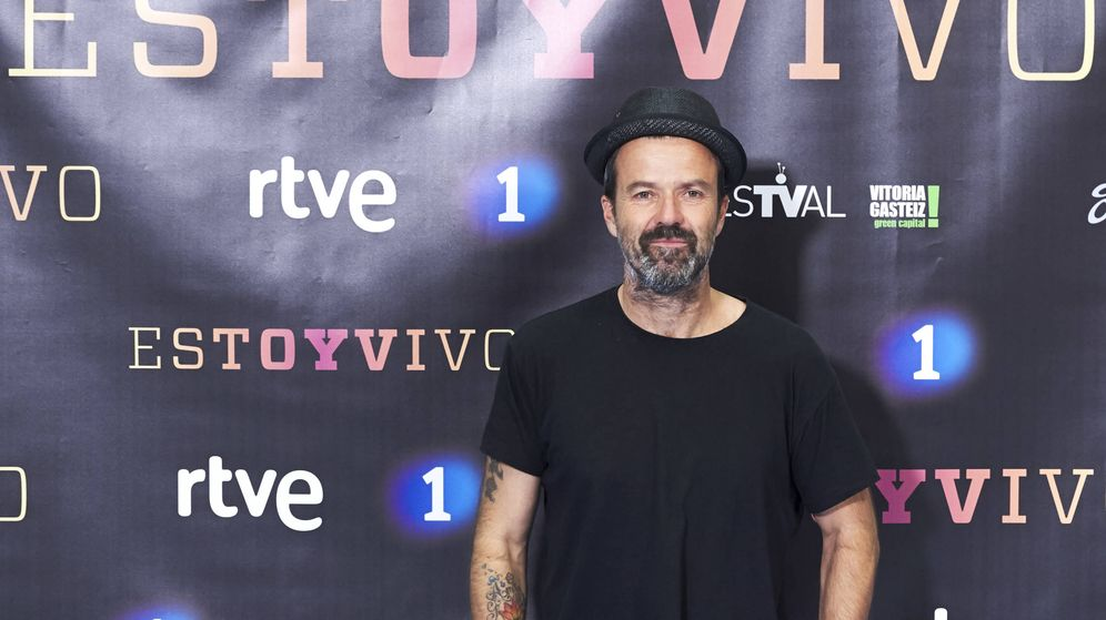 Foto: Pau Donés, en el Festival de Vitoria. (Getty)