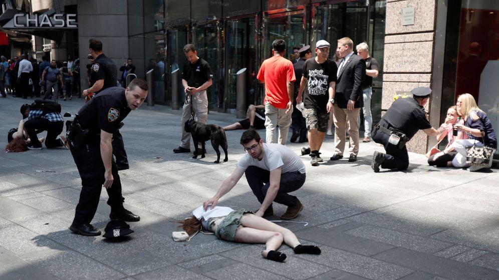 Foto: Al menos un muerto y 20 heridos tras un atropello en Times Square
