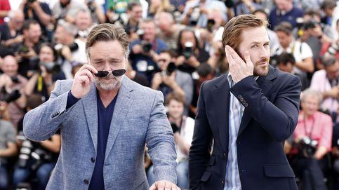 Ryan Gosling y Russell Crowe: superdetectives en Cannes