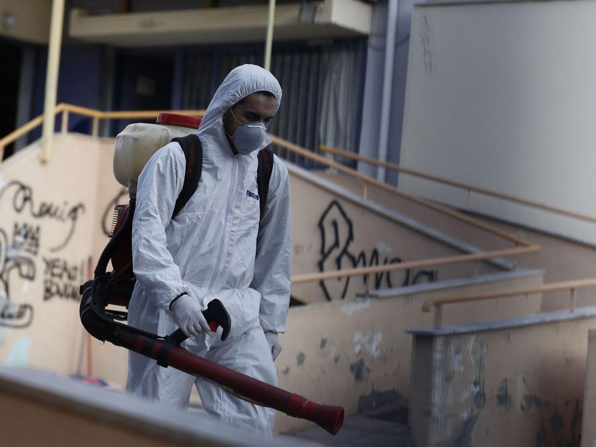 Foto: Coronavirus en Tesalónica, Grecia (Reuters)