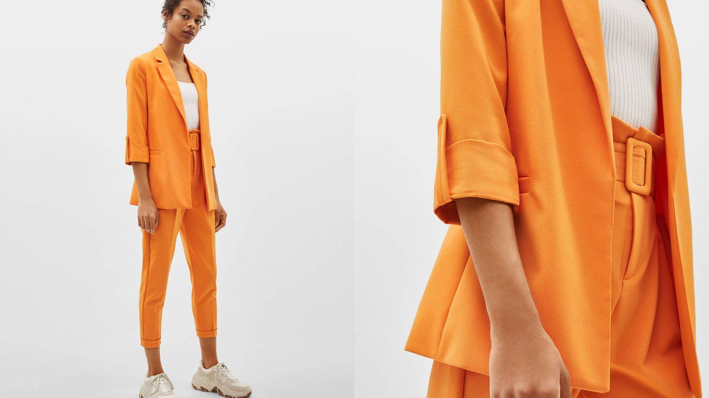 El mismo conjunto que Paula Echevarría en naranja.