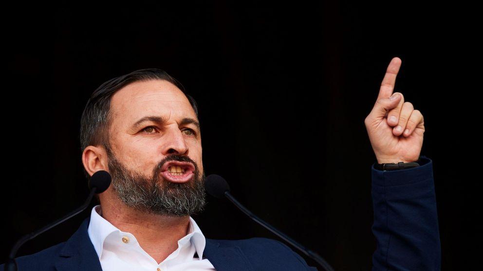 Santiago Abascal, líder de Vox, pasa a ser el político peor valorado en el CIS