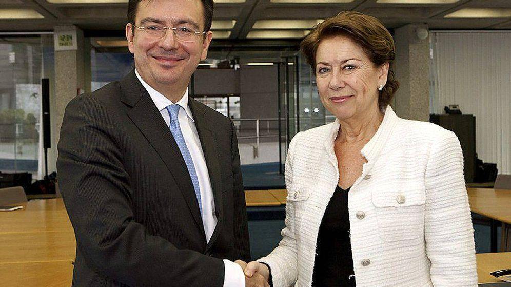 Foto: Ramón Escolano y Magdalena Álvarez en una imagen de archivo.