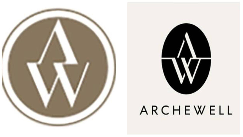 El parecido de los logos de las dos empresas