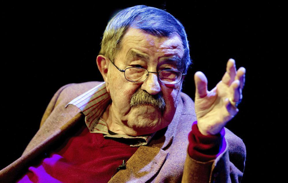 Foto: El escritor alemán murió hoy a los 87 años (EFE)
