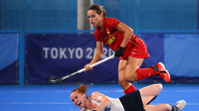 Lance del partido entre España y el Reino Unido. (Reuters)
