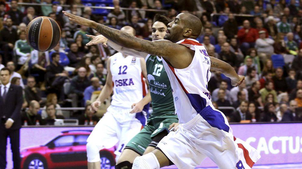 El CSKA remonta al Unicaja y ya es el único equipo que aún no ha perdido