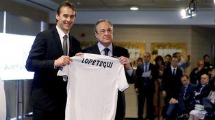 Florentino ya muestra su disgusto con Lopetegui