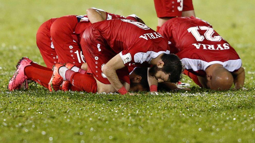 El fútbol rescata a Siria: a un paso de sacar billete para disputar el Mundial