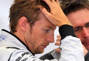 """Jenson Button considera """"frustrante"""" su resultado en Silverstone"""