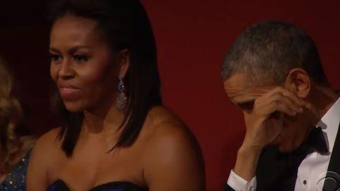 Barack Obama, emocionado en un concierto de Aretha Franklin