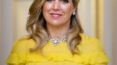 Máxima de Holanda brilla cual rayo de sol en su cena de gala con Rania de Jordania