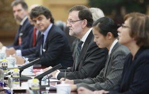 Rajoy cerró en Pekín un gran 'Eurovegas chino' para Madrid con el multimillonario Wang