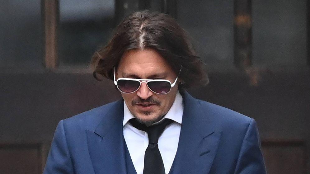Foto:  Johnny Depp, en Londres. (EFE)