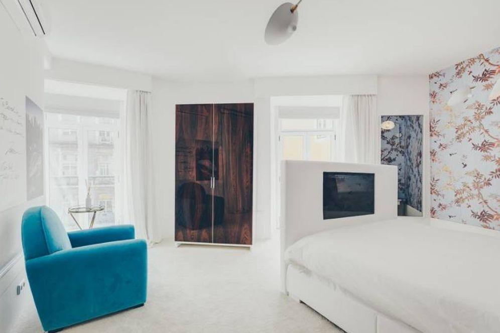 Foto: Un apartamento con encanto en pleno barrio lisboeta de Bica, junto al famoso elevador.