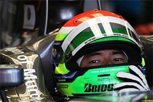 Yamamoto continuará en el Hispania Racing para el Gran Premio de Bélgica