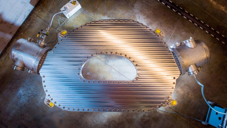 Foto: El potentísimo imán que puede hacer realidad la fusión nuclear en cuatro años. (MIT-CFS)