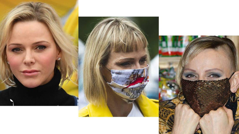 Los cambios de look de Charlène de Mónaco en 2020. (Cordon Press / Getty)