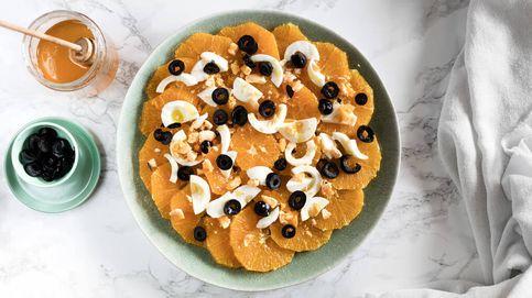 Ensalada de naranja, huevos y aceitunas, una manera original y apetecible de comer cítricos