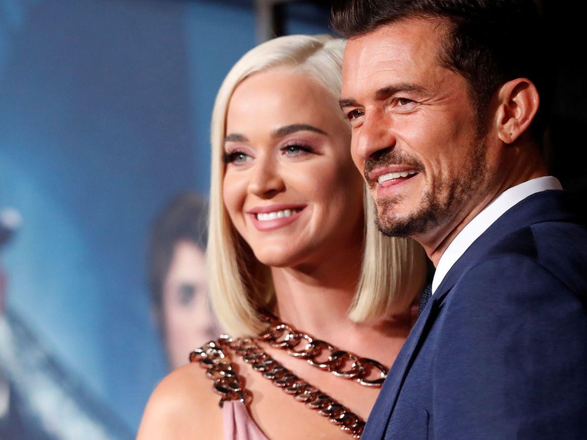 Foto: Katy Perry y Orlando Bloom. (Reuters)