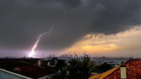 Tormenta eléctrica en Ciudad del Cabo
