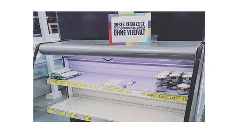 Así combate el racismo un supermercado de Hamburgo