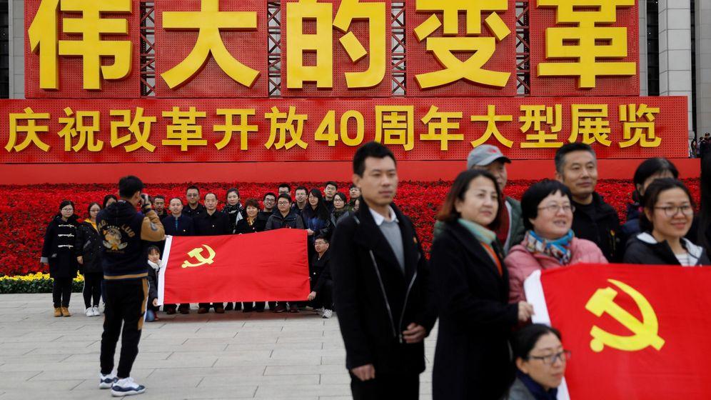Foto: China celebra el 40 aniversario de su reforma y apertura en Pekín. (EFE)