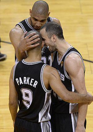 Parker baila en la cara de LeBron para dar a los Spurs el primer triunfo en la final