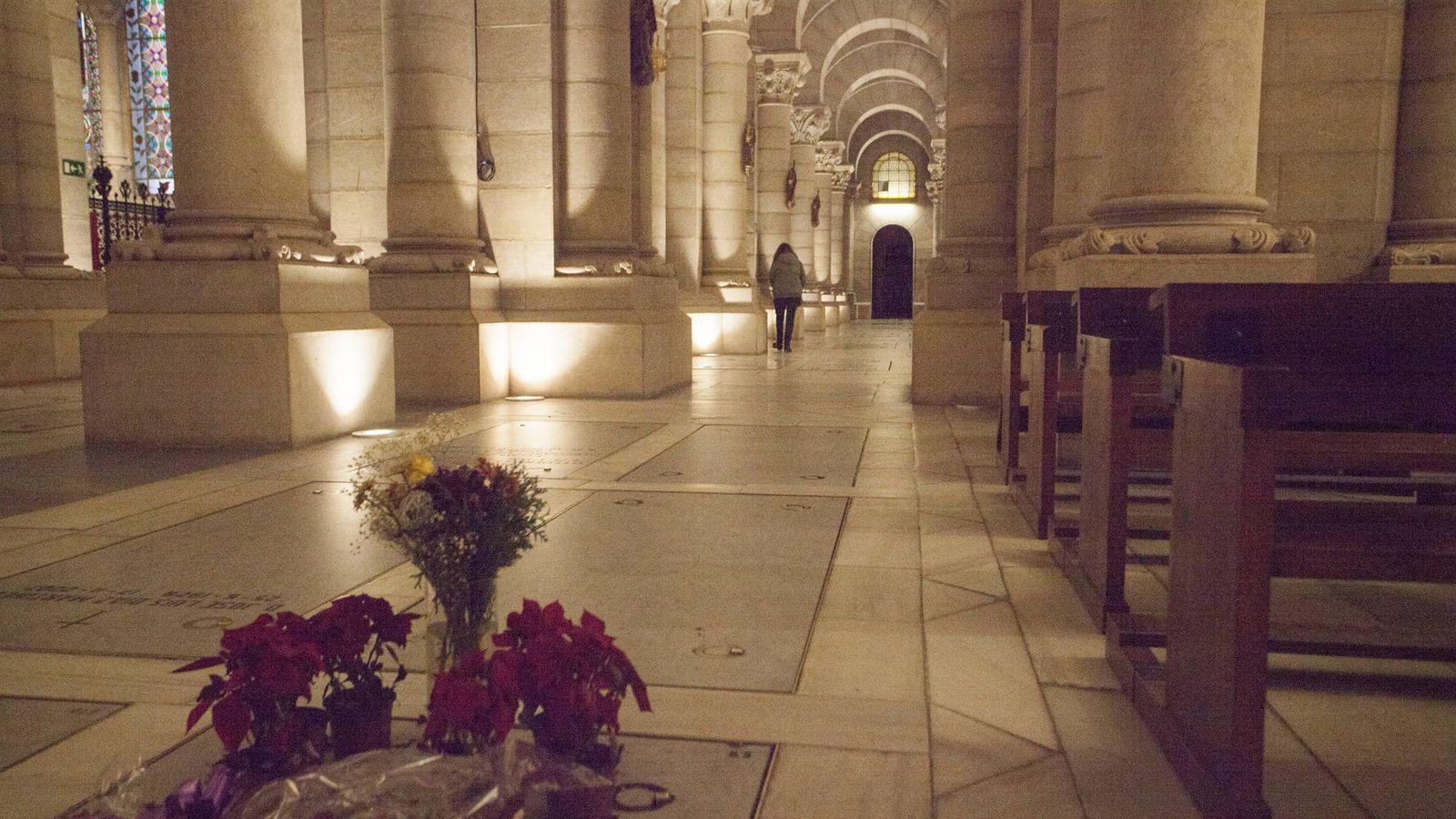 Foto: Cripta de La Almudena. (Enrique Villarino)