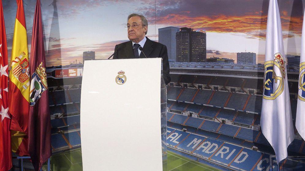 Foto: Florentino seguirá siendo presidente del Real Madrid al menos hasta 2021. (EFE)
